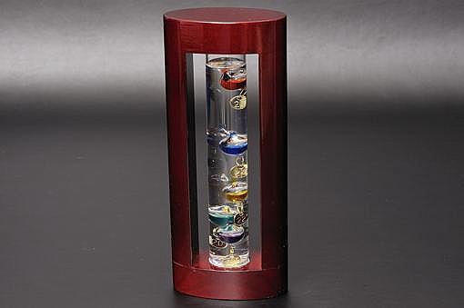 333-200ガラスフロート温度計S【1417-s0474】